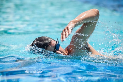 Turn your head up breaststroke into front crawl with Turner Swim, adult swim coaching specialists.