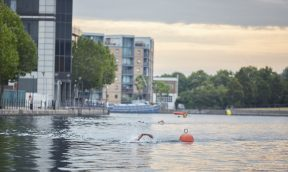 Canary Wharf Mile Swim