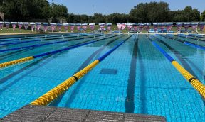 Swimming training for the Olympic Games Trials