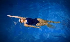 Backstroke swimming coaching programme with Turner Swim, adult coaching specialists.
