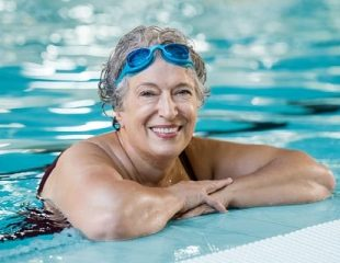 Face in the water breaststroke swim coaching with Turner Swim in luxury hotels. London, Manchester, Reading and Exeter.
